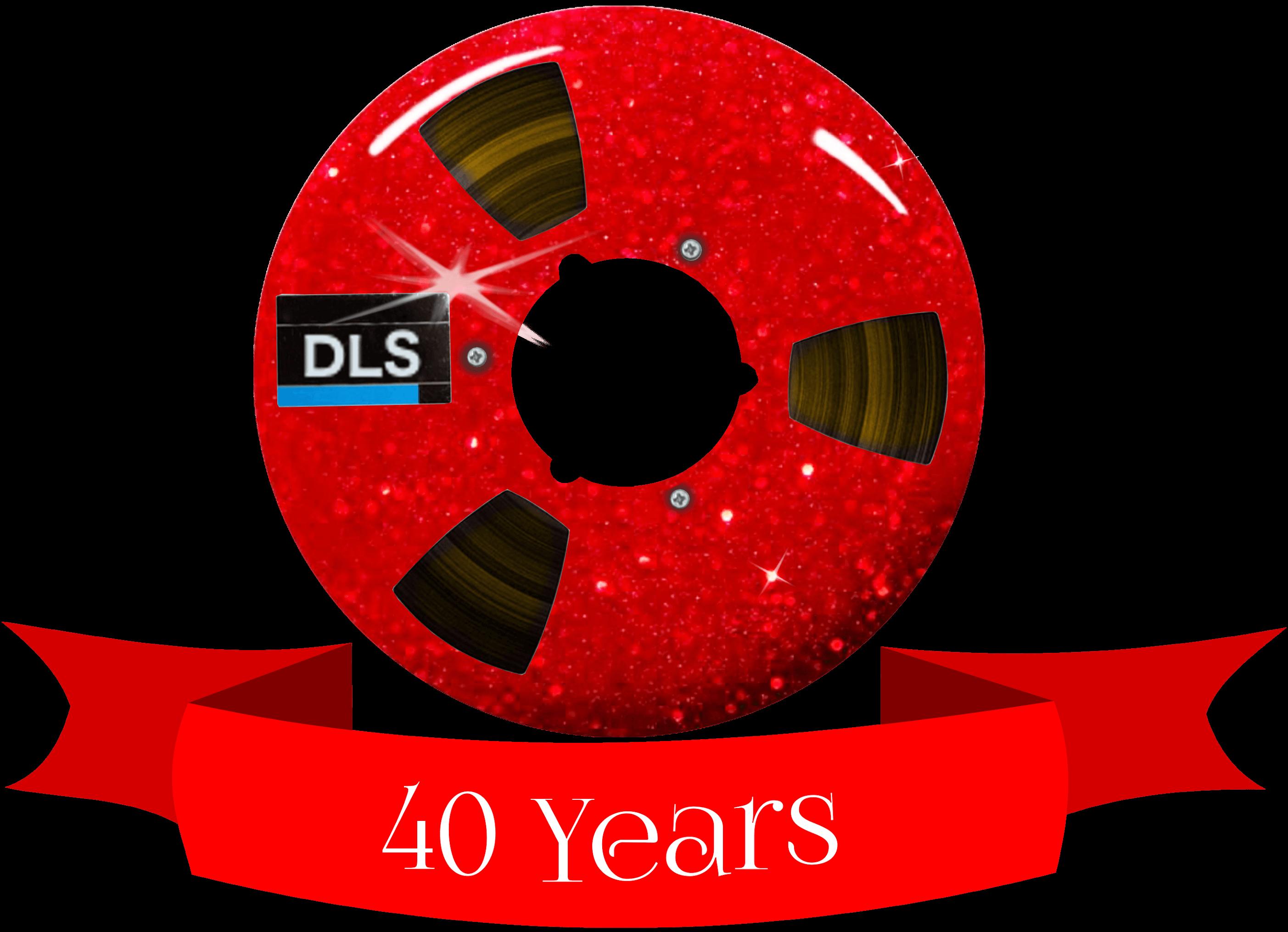 David Lange Studios 40 Year Logo